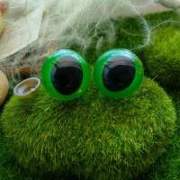 Глаза, 25 мм (кошачьи, зеленый)