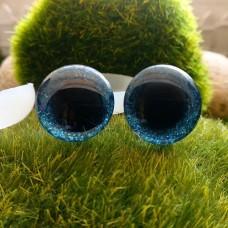 Глаза 3D, 16 мм (блеск, синий)