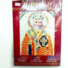 """Набор для вышивания крестом """"Святой Николай Чудотворец"""" 2056236"""